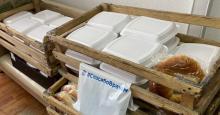 Персонал медицинского госпиталя Тувы обеспечат горячими обедами