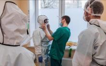 Молодогвардеец «Единой России» Мерген Ак-Кыс ушел помогать санитаром в инфекционный госпиталь