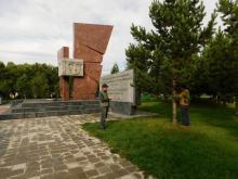 Лесопатологическое обследование мемориального комплекса «Площадь Победы» в Тыве