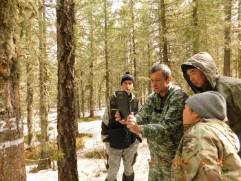 В Республики Тыва состоялась тренировка для лесопатологов по осуществлению Государственного лесопатологического мониторинга в 2021 году