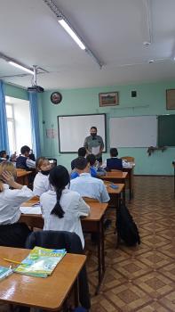 Лесопатологи Тывы провели открытый урок «Защита леса -наша работа» для учеников школы №8 г. Кызыла